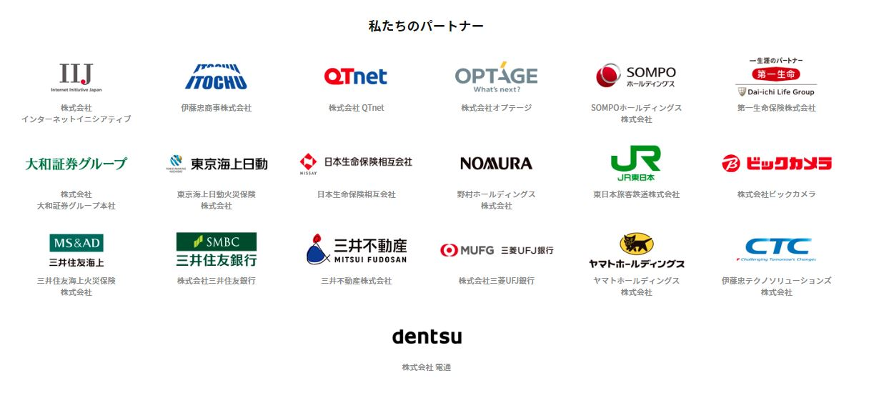 ディカーレット株主構成