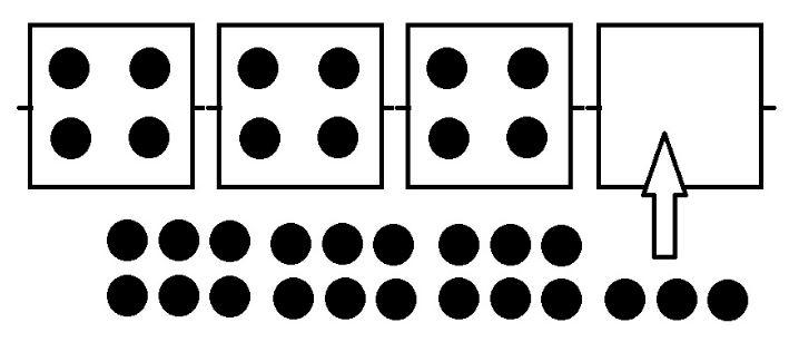 ビットコインのブロックチェーンのイメージ
